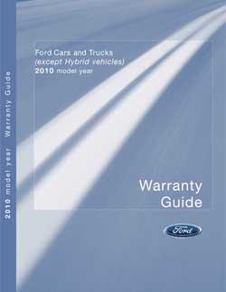2011 Warranty Guide