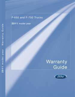 2011 F650-750 Warranty