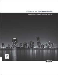 2014 Warranty Guide