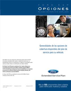 Ford ESP Spanish