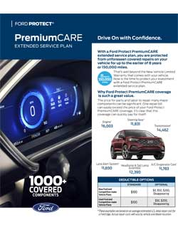 Ford Extended Warranty Premium Care >> Ford Extended Warranty Ford Esp Online Contract