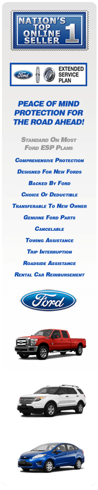 ford extended warranty - ford esp - premium care plans